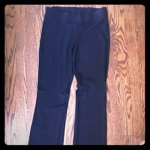 White House Black Market Navy blue Ponte knit Pant